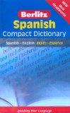Portada de BERLITZ LANGUAGE: SPANISH COMPACT DICTIONARY: COMPACT DICTIONARY, SPANISH - ENGLISH, INGLAES - ESPAANOL (BERLITZ COMPACT DICTIONARY)