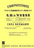 Portada de WEBER - GRAN DUO CONCERTANTE OP.48 EN MIB MAYOR PARA CLARINETE Y PIANO