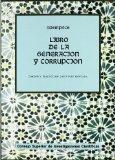 Portada de LIBRO DE LA GENERACION Y LA CORRUPCION