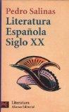 Portada de LITERATURA ESPAÑOLA SIGLO XX (LIBRO DE BOLSILLO, EL)