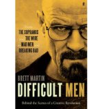 Portada de [(DIFFICULT MEN: FROM THE SOPRANOS AND THE WIRE TO MAD MEN AND BREAKING BAD )] [AUTHOR: BRETT MARTIN] [OCT-2013]