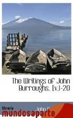 Portada de THE WRITINGS OF JOHN BURROUGHS. [V.1-20