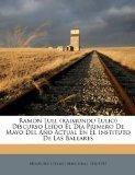 Portada de RAMÓN LULL (RAIMUNDO LULIO) DISCURSO LEÍ