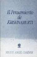 Portada de EL PENSAMIENTO DE KRISHNAMURTI