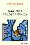 Portada de PARA LEER A CARLOS CASTANEDA