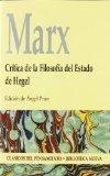 Portada de MARX: CRITICA DE LA FILOSOFIA DEL ESTADO DE HEGEL