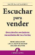 Portada de ESCUCHAR PARA VENDER: DESCUBRE LAS VERDADERAS NECESIDADES DE TUS CLIENTES