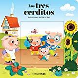Portada de LOS TRES CERDITOS: ILUSTRACIONES DE MARTA BIEL (CUENTOS CLÁSICOS CON MECANISMOS)