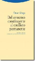 Portada de DEL CONSENSO CONSTITUYENTE AL CONFLICTO PERMANENTE (EBOOK)