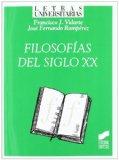 Portada de FILOSOFIAS DEL SIGLO XX