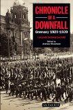 Portada de CHRONICLE OF A DOWNFALL: GERMANY 1929-1939
