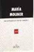 Portada de DICCIONARIO DE USO ESPAÑOL MARIA MOLINER (2 VOLS. 2003)
