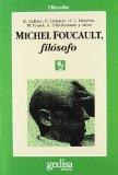 Portada de MICHEL FOUCAULT, FILOSOFO