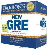 Portada de BARRON'S NEW GRE FLASH CARDS, 2ND EDITION 2ND BY WEINER GREEN M.A., SHARON, WOLF PH.D., IRA K. (2011) CARDS