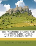 Portada de THE FRAGMENTS OF ZENO AND CLEANTHES; WIT