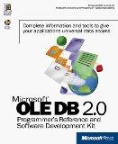 Portada de MICROSOFT OLE DB 2.0 PROGRAMMER'S REFERENCE AND DATA ACCESS SOFTWARE DEVELOPMENT KIT (MICROSOFT PROFESSIONAL EDITIONS)