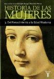 Portada de HISTORIA DE LAS MUJERES 3: DEL RENACIMIENTO A LA EDAD MODERNA
