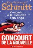 Portada de CONCERTO A LA MEMOIRE D UN ANGE (PRIX GONCOURT DE LA NOUVELLE 2010)