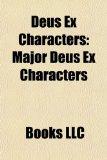 Portada de DEUS EX CHARACTERS: MAJOR DEUS EX CHARAC