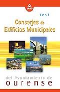 Portada de CONSERJES DE EDIFICIOS MUNICIPALES DEL AYUNTAMIENTO DE OURENSE: TEST