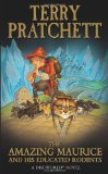 Portada de THE AMAZING MAURICE AND HIS EDUCATED RODENTS (DISCWORLD NOVEL)
