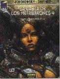 """Portada de LA CASTA DE LOS METABARONES-4 """"ODA LA BISABUELA"""""""