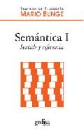 Portada de SEMANTICA I: SENTIDO Y REFERENCIA