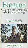 Portada de FÜNF SCHLÖSSER - WANDERUNGEN DURCH DIE MARK BRANDENBURG -
