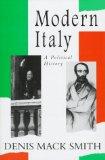 Portada de MODERN ITALY: A POLITICAL HISTORY