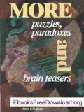 Portada de MORE PUZZLES PARADOXES/BRAIN TEASERS H/C