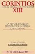 Portada de LA ACTUAL SITUACION DEMOCRATICA EN ESPAÑA. SU BASE MORAL