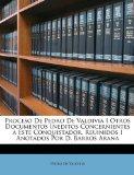 Portada de PROCESO DE PEDRO DE VALDIVIA I OTROS DOC