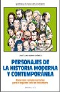 Portada de PERSONAJES DE LA HISTORIA MODERNA Y CONTEMPORANEA
