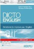 Portada de DICTO ENGLISH. DICTATIONS TO IMPROVE YOUR ENGLISH. AIR. ADVANCED LEVEL. CON 3 CD AUDIO (SUSSIDI LINGUISTICI)