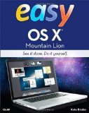 Portada de EASY OS X MOUNTAIN LION (3RD EDITION) 3RD (THIRD) EDITION BY BINDER, KATE PUBLISHED BY QUE PUBLISHING (2012)