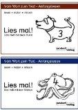 Portada de LIES MAL! HEFTE 3 UND 4: DAS HEFT MIT DEM HUND / DAS HEFT MIT DEM KRAKEN VON DEBBRECHT. JAN (2006) NICHT GEBUNDEN