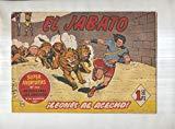 Portada de BRUGUERA: EL JABATO NUMERO 110: LEONES AL ACECHO