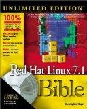 Portada de RED HAT LINUX 7.1 BIBLE BY CHRISTOPHER NEGUS (2001-05-29)