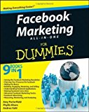 Portada de FACEBOOK MARKETING ALL-IN-ONE FOR DUMMIES BY PORTERFIELD, AMY, KHARE, PHYLLIS, VAHL, ANDREA 1ST (FIRST) EDITION [PAPERBACK(2011/8/9)]