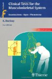 Portada de CLINICAL TESTS FOR THE MUSCULOSKELETAL SYSTEM: EXAMINATIONS - SIGNS - PHENOMENA (CLINICAL SCIENCES (THIEME)) BY KLAUS BUCKUP (18-JUN-2008) PAPERBACK