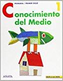 Portada de CONOCIMIENTO DEL MEDIO 1. (SALTA A LA VISTA) DE NIEVES HERRERO PARRAL (25 JUN 2012) TAPA BLANDA