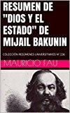 """Portada de RESUMEN DE """"DIOS Y EL ESTADO"""" DE MIJAIL BAKUNIN: COLECCIÓN RESÚMENES UNIVERSITARIOS Nº 236"""