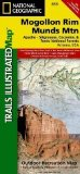 Portada de MOGOLLON RIM & MUNDS MOUNTAIN WILDERNESS AREAS, APACHE-SITGREAVES, COCONINO & TONTO NATIONAL FORESTS TRAILS ILLUSTRATED OTHER REC. AREAS (NATIONAL GEOGRAPHIC MAPS: TRAILS ILLUSTRATED) MAP EDITION BY NATIONAL GEOGRAPHIC MAPS PUBLISHED BY NATIONAL GEOG