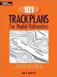 Portada de 101 TRACK PLANS FOR MODEL RAILROADERS REPRINT EDITION BY WESTCOTT, LINN H. PUBLISHED BY KALMBACH PUBLISHING CO ,U.S. (1994)