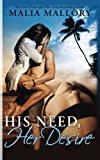 Portada de HIS NEED, HER DESIRE: DOMINATING BDSM BILLIONAIRES EROTIC ROMANCE (VOLUME 1) BY MALIA MALLORY (2014-08-19)