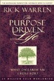 Portada de THE PURPOSE DRIVEN? LIFE: WHAT ON EARTH AM I HERE FOR? BY WARREN, RICK 1ST (FIRST) EDITION [PAPERBACK(2007)]