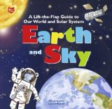 Portada de EARTH AND SKY: A LIFT-THE-FLAP GUIDE TO OUR WORLD AND SOLAR SYSTEM (LIFT THE FLAP AND LEARN) BY HEDELIN, PASCALE (2009) SPIRAL-BOUND