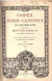 Portada de CODEX IURIS CANONICI / IUSSU DIGESTUS,... PRAEFATIONE, FONTIUM ANNOTATIONE ET INDICE ANALYTICO-ALPHABETICO
