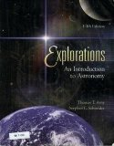 Portada de EXPLORATIONS: AN INTRODUCTION TO ASTRONOMY 5TH EDITION BY ARNY, THOMAS (2007) PAPERBACK