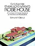 Portada de CUT & ASSEMBLE FRANK LLOYD WRIGHT'S ROBIE HOUSE: A FULL-COLOR PAPER MODEL (DOVER CHILDREN'S ACTIVITY BOOKS) BY EDMUND V. GILLON JR. (1988-01-01)